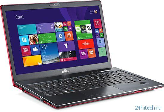 Fujitsu представила ряд ультратонких ноутбуков на конференции All-New-in-Touch
