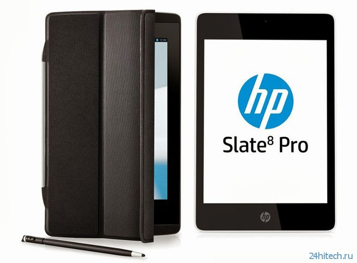 HP представила планшет Slate 8 Pro Business