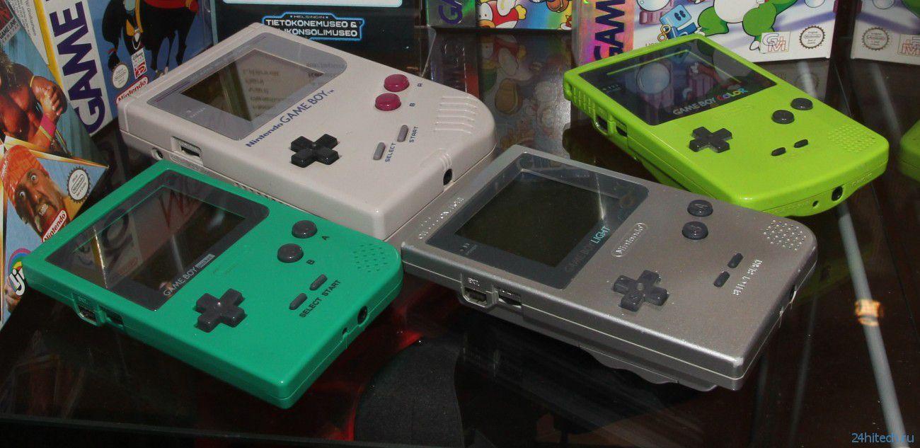Карманной консоли Game Boy исполнилось 25 лет