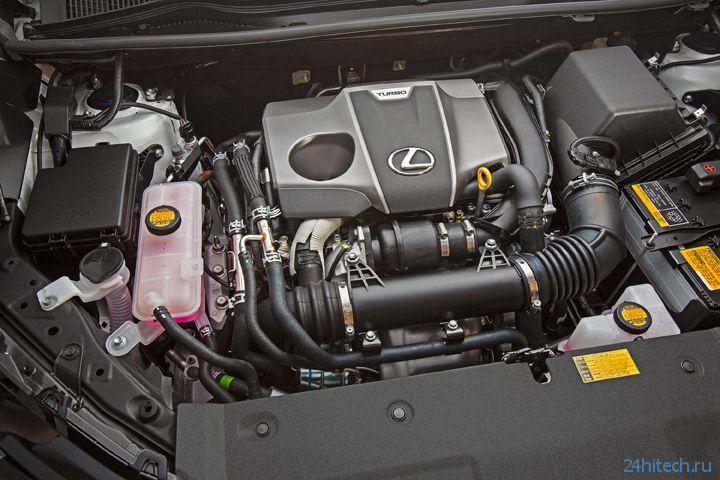 Компактный кроссовер Lexus NX показал лицо