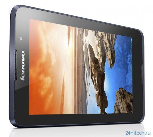 Lenovo представила планшеты A-серии — A7-30, A7-50, A8 и A10