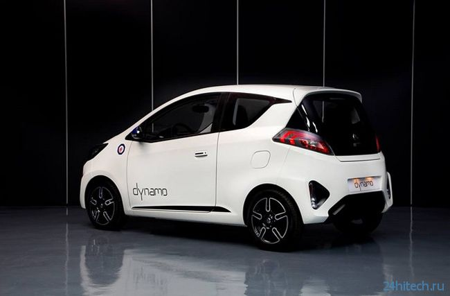 MG Dynamo: городской концепт-автомобиль на электротяге