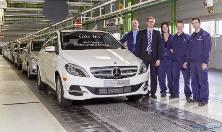 Mercedes-Benz начнёт выпуск электромобилей