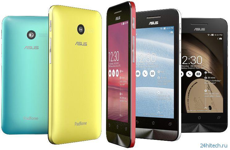 Начались продажи смартфонов ASUS ZenFone