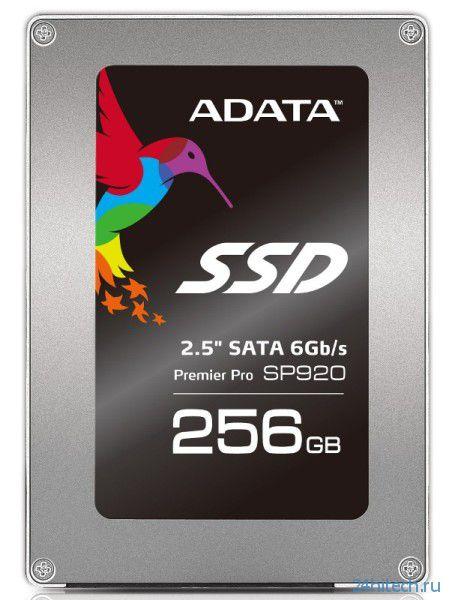 Новая серия SSD-накопителей ADATA Premier Pro SP920 для мультимедиа