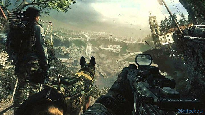 Опубликован первый скриншот из новой Call of Duty