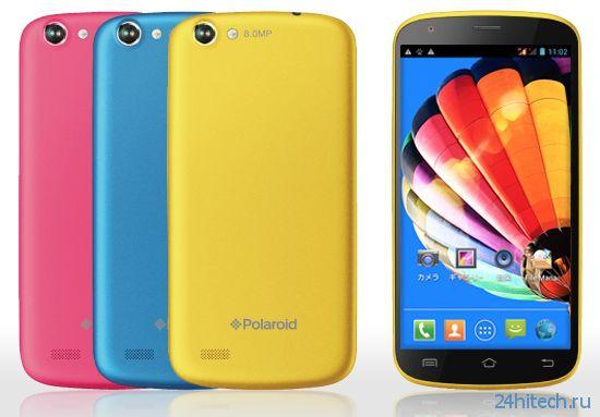 Смартфон Polaroid PolaSma рассчитан для подростков