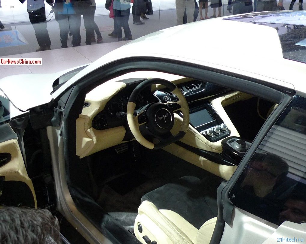 Спортивный электрокар Event: китайский ответ в стиле Tesla Model S