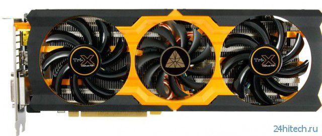 Видеокарта SAPPHIRE Radeon R9 270X Black Diamond Edition с высоким заводским разгоном