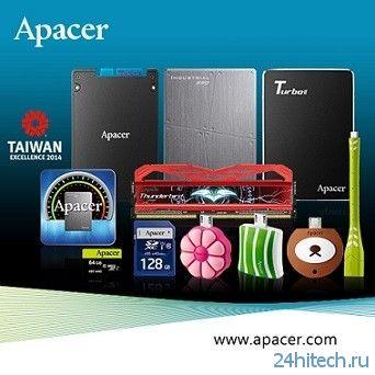 Apacer покажет на Computex 2014 целый ряд SSD