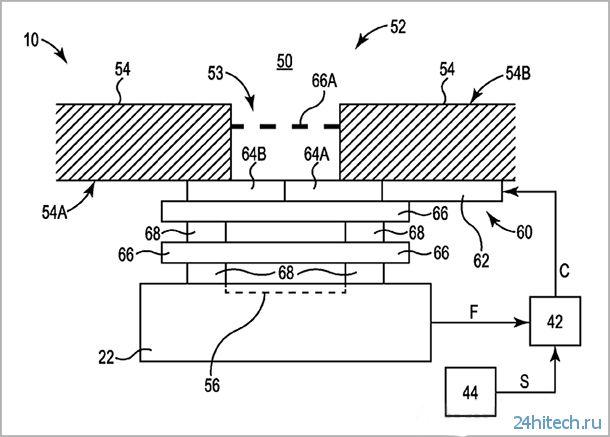 """Apple запатентовала """"механические жалюзи"""" для защиты микрофонов и динамиков iPhone"""