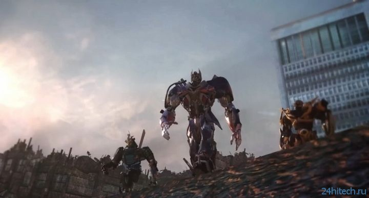 Битва на Земле в трейлере Transformers: Rise of the Dark Spark
