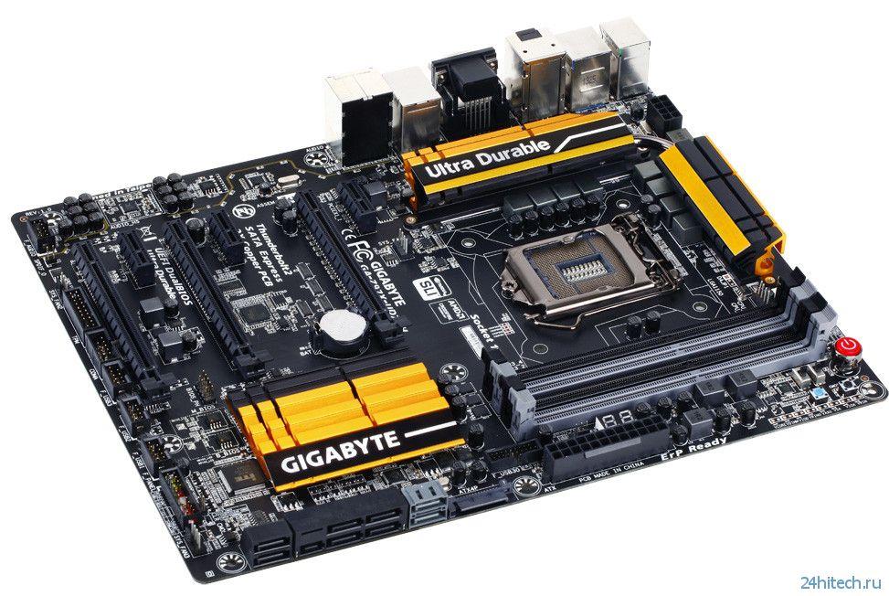 GIGABYTE представила новые платы Ultra Durable 9 Series