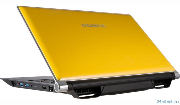 Игровой ноутбук Gigabyte P25 v2 оснащён 15,6-дюймовым дисплеем