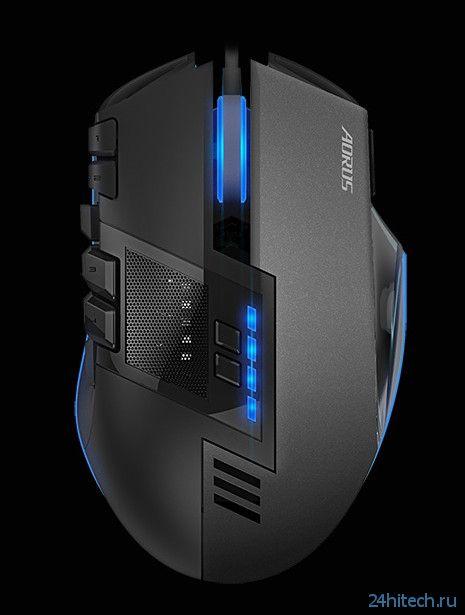 Клавиатура AORUS Thunder K7 и мышь Thunder M7 для любителей игр