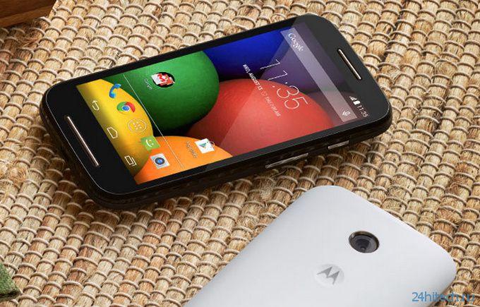 Motorola Moto E представлен официально