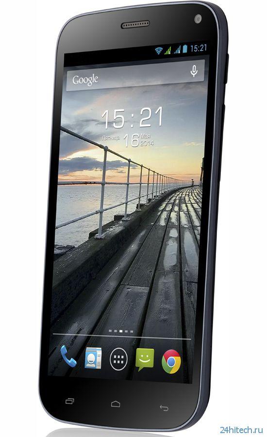 Смартфон Fly EVO Tech 2 с 5-дюймовым экраном за 7000 рублей