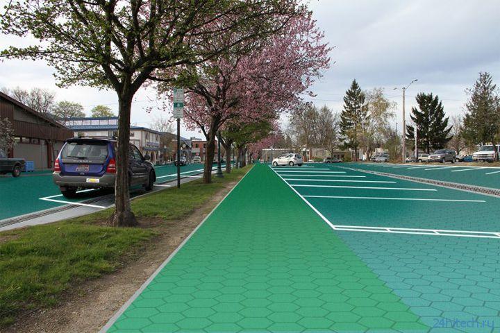 Solar Roadways: проект автомобильных дорог с покрытием из солнечных элементов