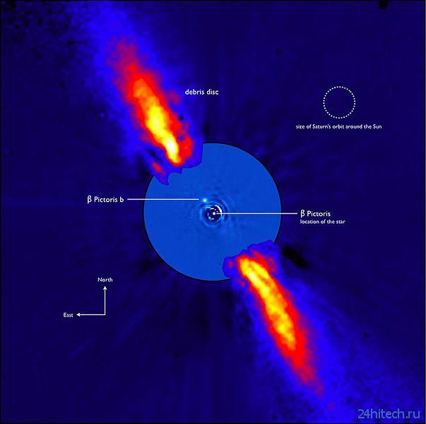 Телескоп-гигант выяснил подробности об экзопланете