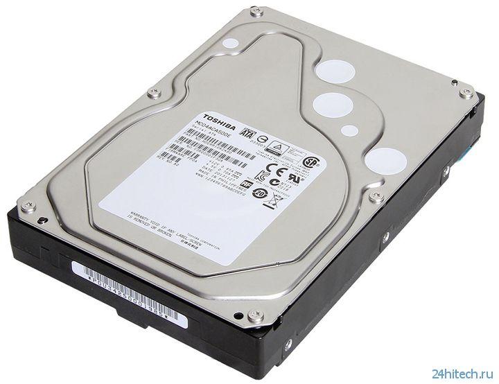Toshiba представила HDD корпоративного класса MC Series ёмкостью до 5 Тбайт