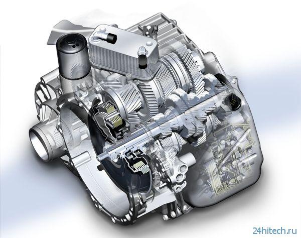 Volkswagen разрабатывает 10-ступенчатую коробку передач DSG