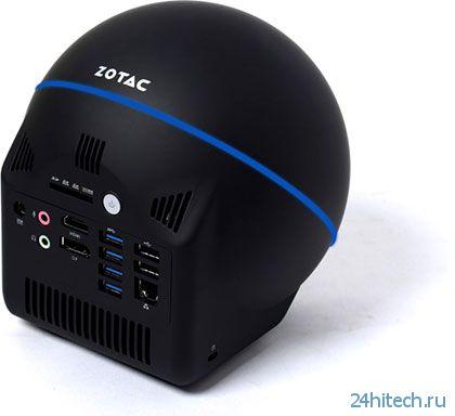 ZOTAC представила ПК ZBOX Sphere OI520 со сферическим дизайном