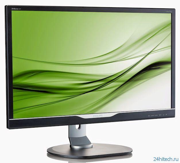 28-дюймовый монитор Philips 288P6LJEB 4K UltraClear UHD Display с поддержкой разрешения 4K Ultra HD
