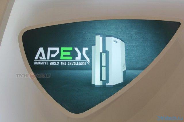 Анонсирован игровой десктоп GIGABYTE APEX