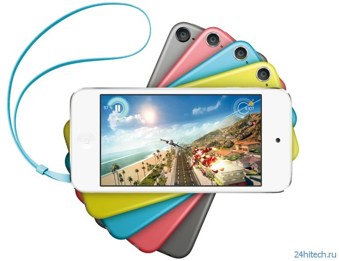 Apple представила плеер iPod Touch с 16 Гбайт памяти и камерой iSight