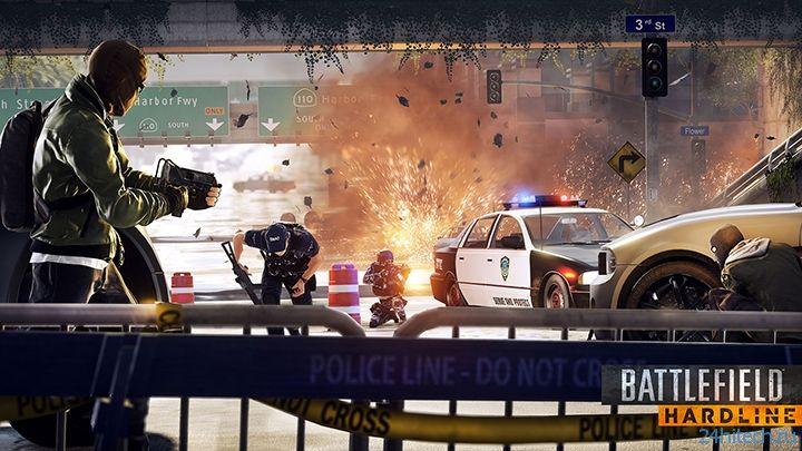 Бета-тестирование Battlefield Hardline на PC открылось для всех желающих