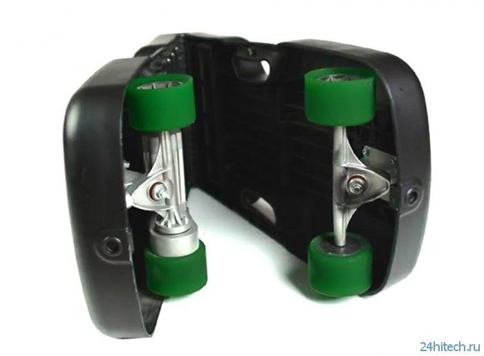 Caseboard: электрический скейтборд со складной конструкцией