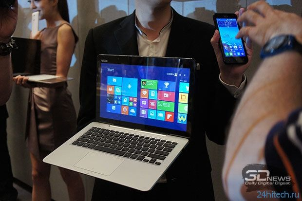 Computex 2014: ASUS Transformer Book V — гибрид Windows-ноутбука и Android-смартфона