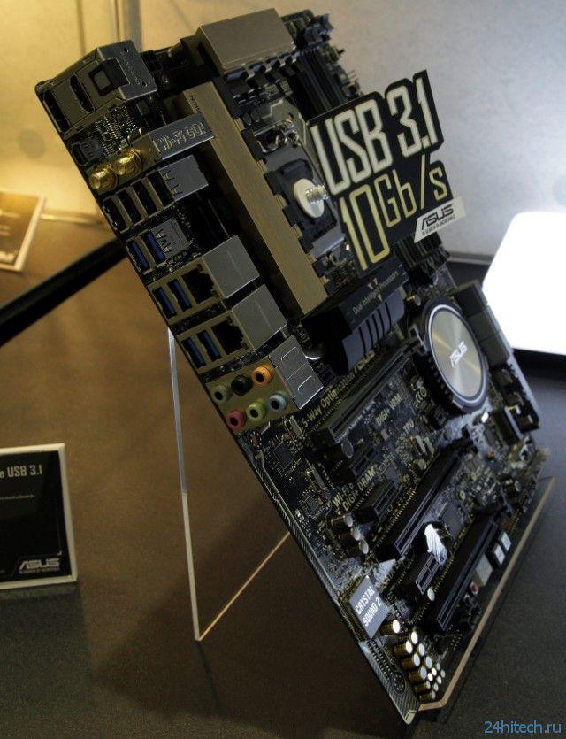 Computex 2014: ASUS анонсировала две материнские платы с интерфейсами USB 3.1