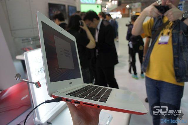 Computex 2014: ASUS представила хромбуки C200 и C300