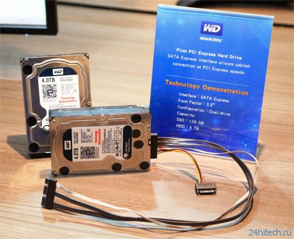 Computex 2014: WD представила накопители с поддержкой интерфейса SATA Express
