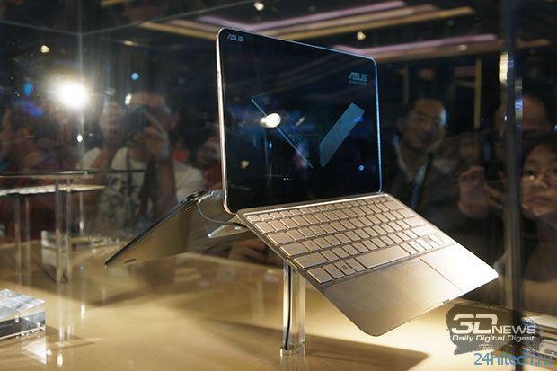 """Computex 2014: очень тонкий 12,5""""планшет ASUS Transformer Book T300 Chi с экраном 2560×1440"""