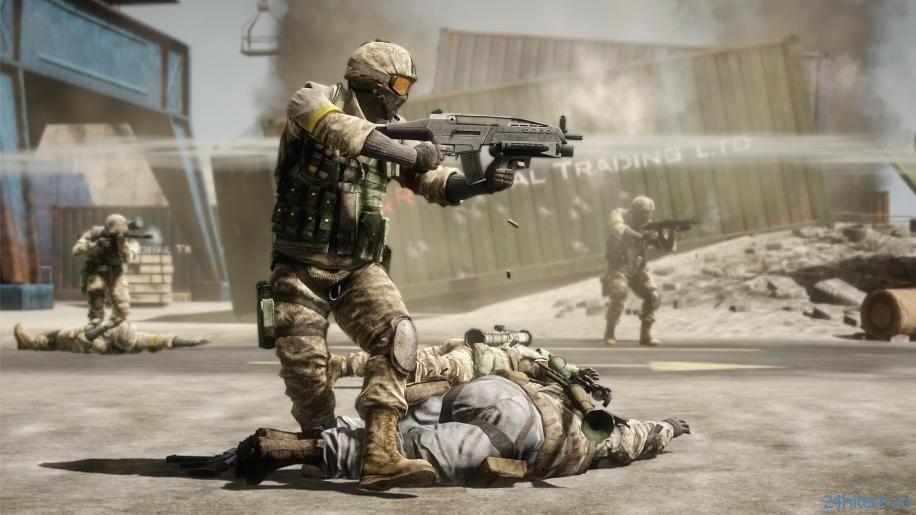 DICE объяснила отсутствие новостей о Battlefield: Bad Company 3