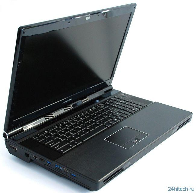 Eurocom называет Panther 5 «самым мощным ноутбуком во вселенной»