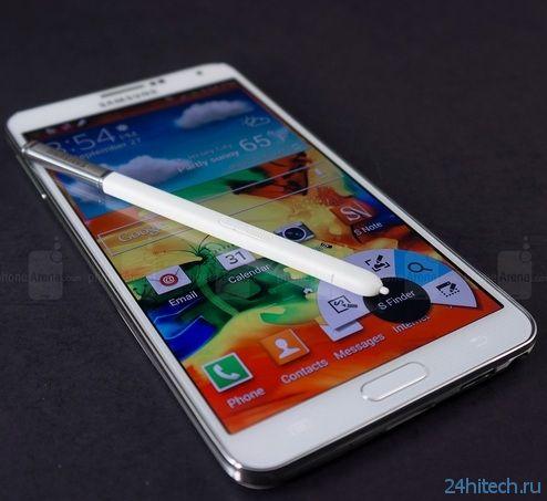 Фаблет Samsung Galaxy Note 4 может получить версию с изогнутым дисплеем