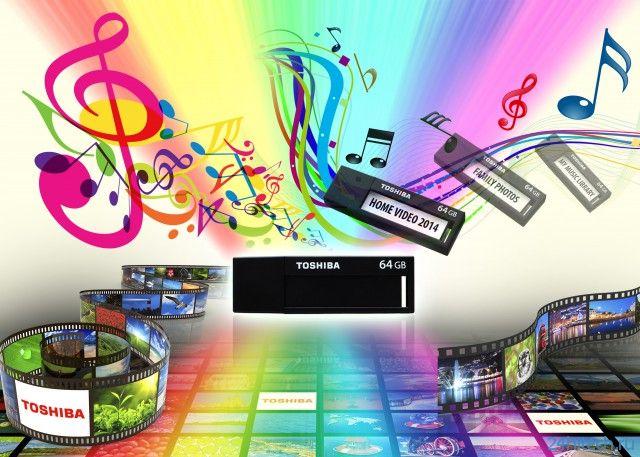 Флэш-накопители серии Toshiba TransMemory с интерфейсом USB 3.0