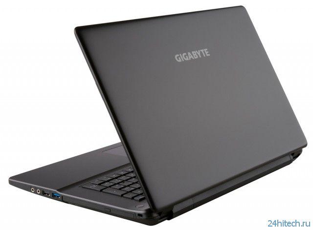 GIGABYTE Q2756N v2 - 17,3-дюймовый мультимедийный ноутбук премиум-класса