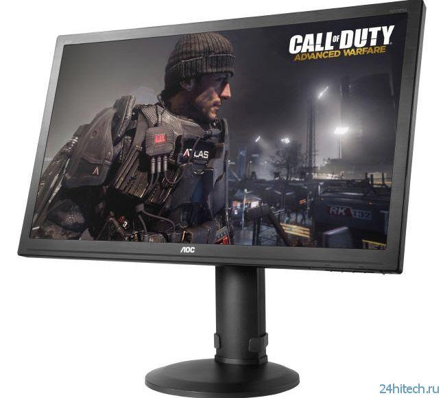 Игровой монитор AOC g2770Pqu с частотой 144 Гц и временем отклика 1 мс