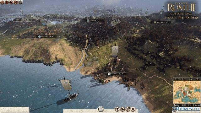 К Total War: Rome 2 вышло дополнение Pirates and Raiders