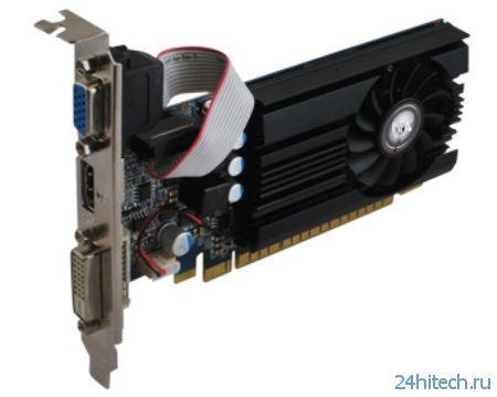 KFA2 GeForce GT 730 EX OC - видеокарта начального уровня с повышенной частотой GPU