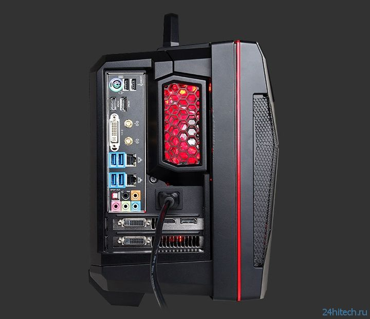Компактный компьютер-кейс CyberPowerPC FANG Battlebox