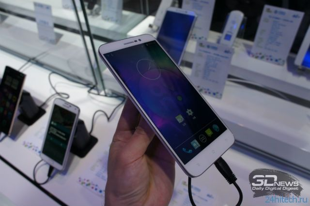 """Mobile Asia Expo 2014: фаблет K-Touch M6 с 6"""" экраном"""