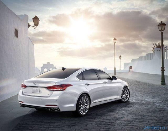 Новый Hyundai Genesis поможет избежать штрафов за превышение скорости