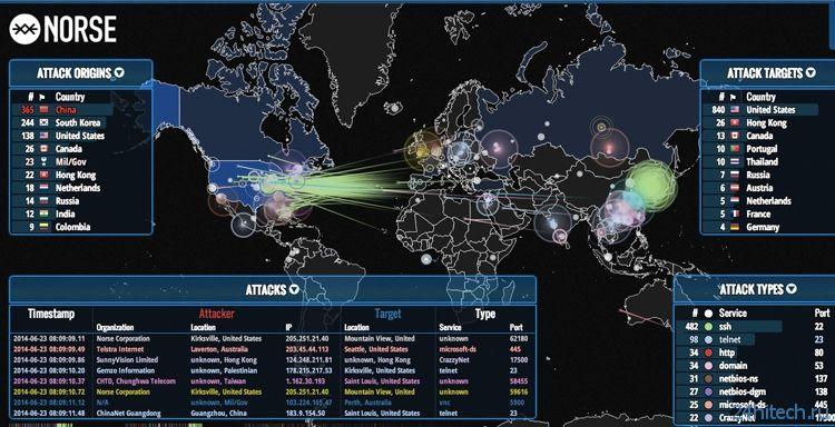 Новый ресурс расскажет о хакерских атаках в реальном времени