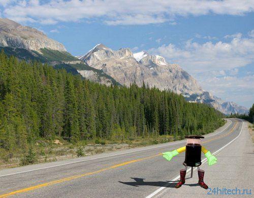 Робот hitchBOT – автостопом по Канаде