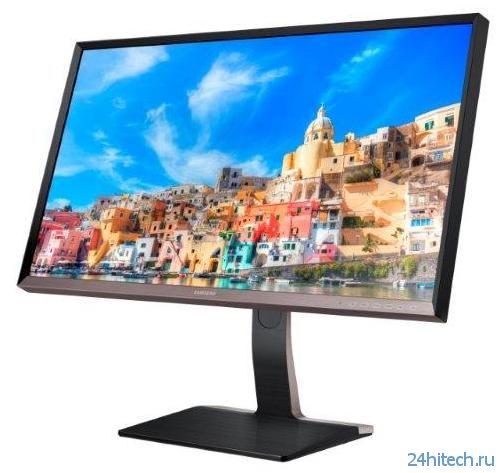 Samsung SD850 - новый бизнес-монитор с разрешением WQHD
